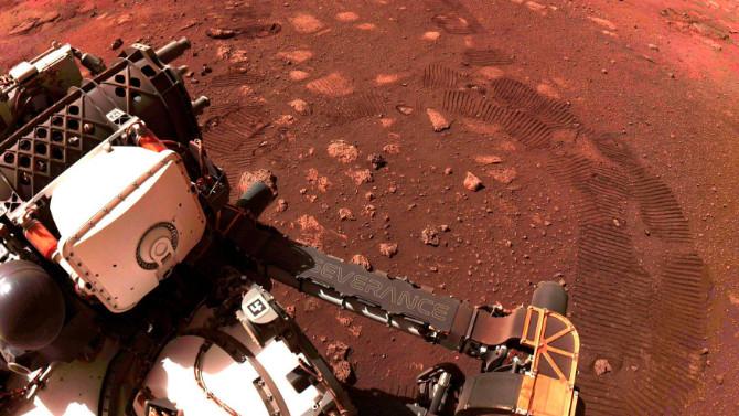 İşte Mars'tan gelen yüksek kaliteli ses kaydı!
