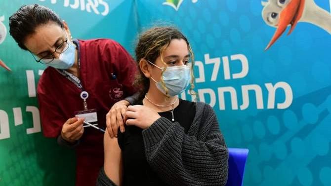 İsrail 600 çocuğu koronavirüse karşı aşıladı