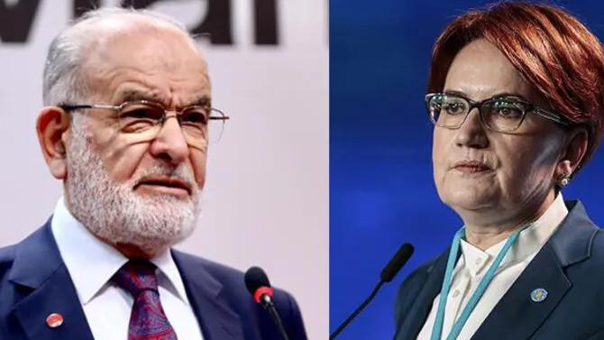 Karamollaoğlu'ndan Akşener'e destek telefonu