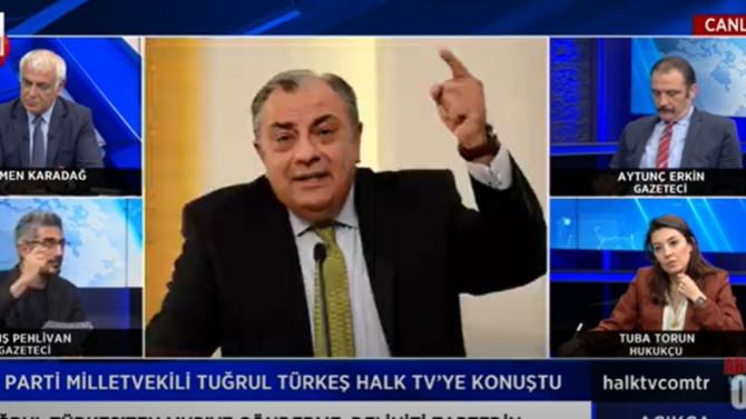 AK Partili Tuğrul Türkeş'ten MHP'ye olay sözler!