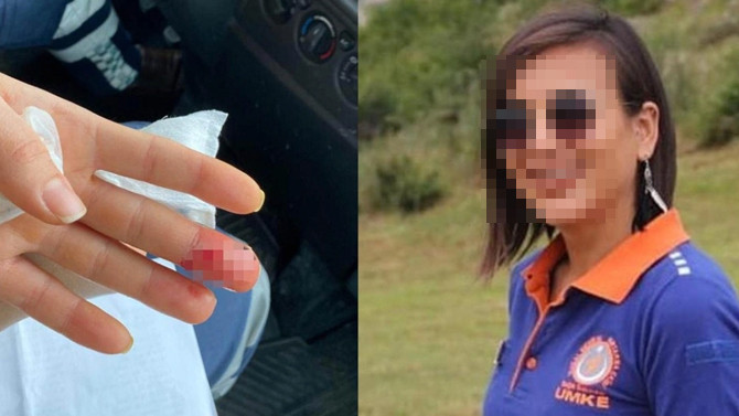 Samsun'da sağlık çalışanına saldırı!