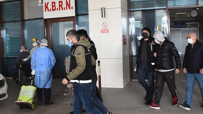 Edirne'de uyuşturucu operasyonu: 5 gözaltı