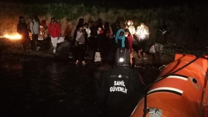 27 göçmen ölümden döndü