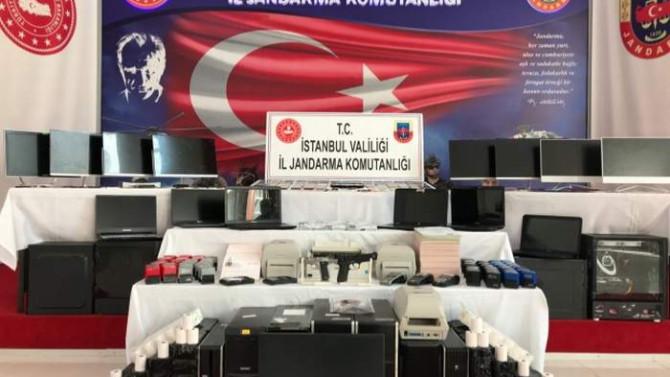 İstanbul'da 45 milyon liralık yasa dışı bahis operasyonu