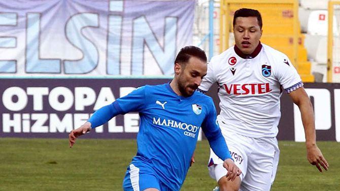 Trabzonspor zirveden kopuyor! BB Erzurumspor- Trabzonspor: 0-0