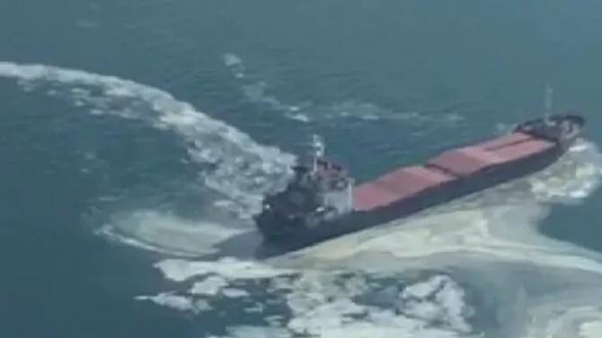Marmara Denizi'nde sahil güvenliği harekete geçiren olay