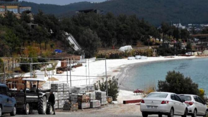 Bodrum plajlarında büyük tehlike: ''Kansere neden olabiliyor''