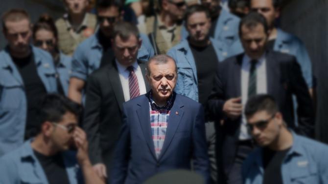 Erdoğan'ın koruma polisi intihar etti