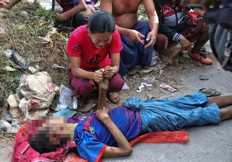 Myanmar'da darbe cehennemi: Ölü sayısı 138'i geçti - Resim: 3