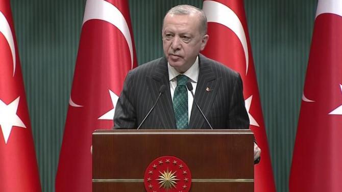 Erdoğan: ''En büyük üretim merkezi Türkiye olacak''