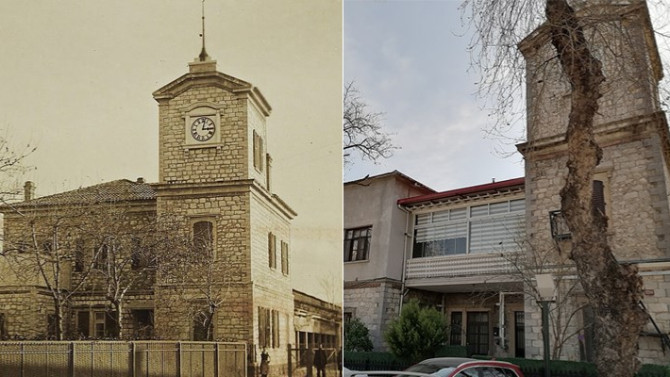 Tarihi binaya PVC doğrama rezaleti!