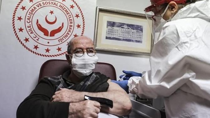 İstanbul'da 65 yaş ve üstü aşılama oranı yüzde 71'e ulaştı