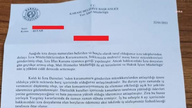 AK Partili belediyeden ''işten atarım'' tehdidi!