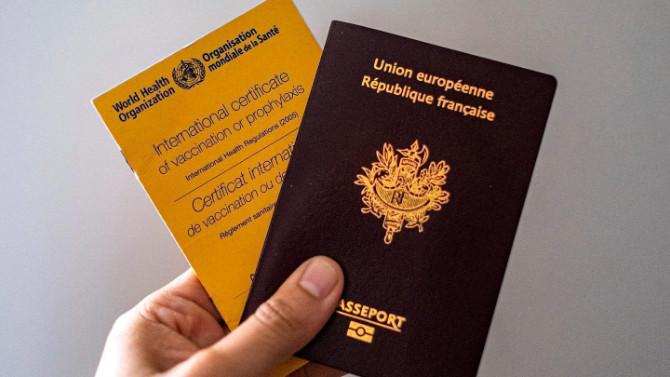 Aşı pasaportu için önemli adım