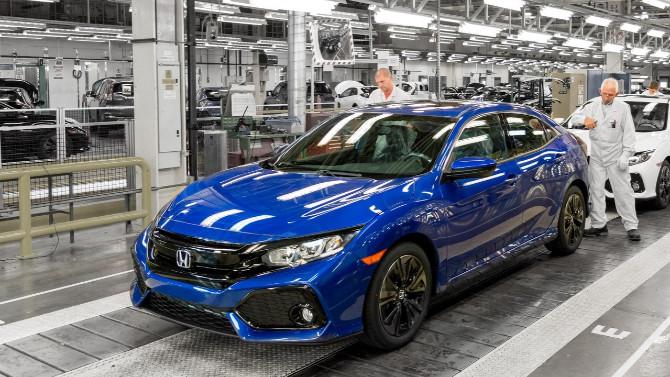 Honda, tedarik sorunları nedeniyle üretimi durdurdu