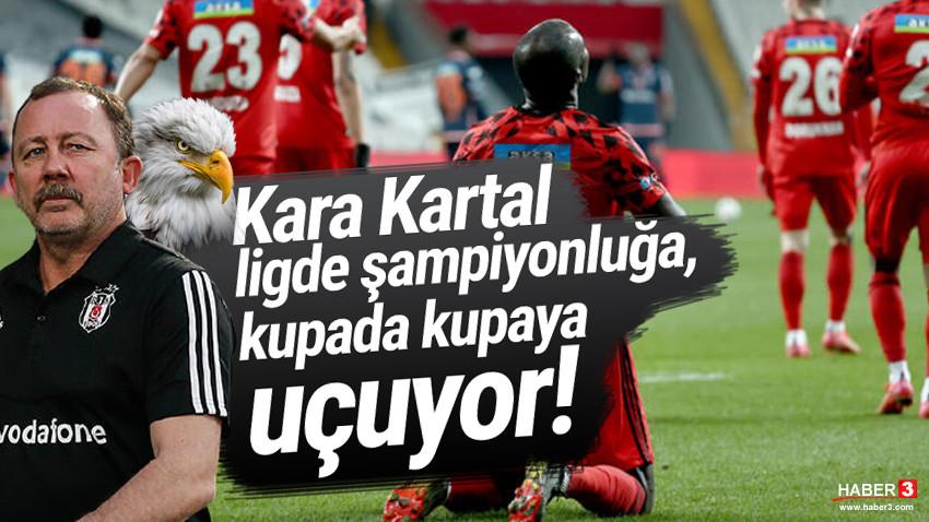 Gol düellosunnda gülen Beşiktaş oldu! Kara Kartal finalde!