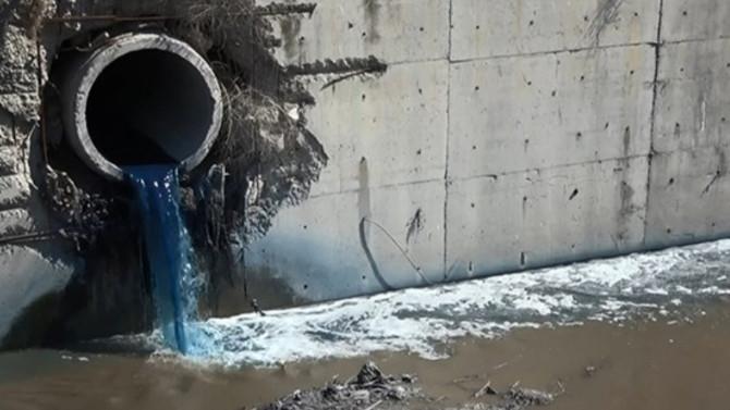 Haramidere'de kimyasal atık alarmı
