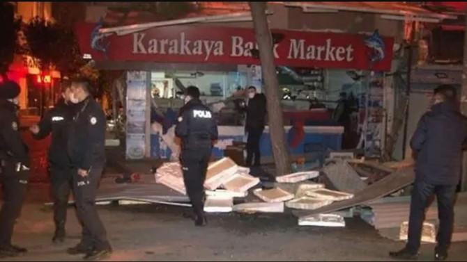 İstanbul Bağcılar'da korkutan patlama