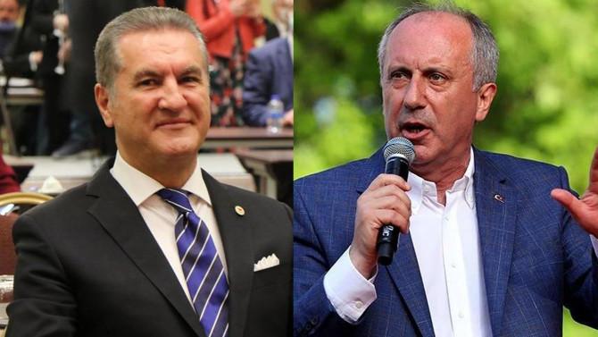 İşte Muharrem İnce ve Mustafa Sarıgül'ün oy oranı