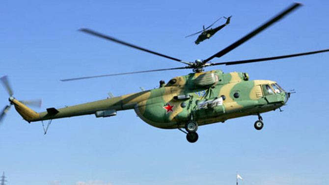 Askeri helikopter düştü: Çok sayıda ölü var!