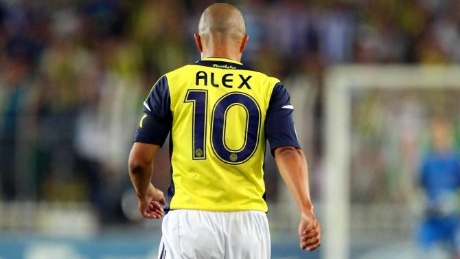 Alex de Souza'dan yeni görevi için ilk adım