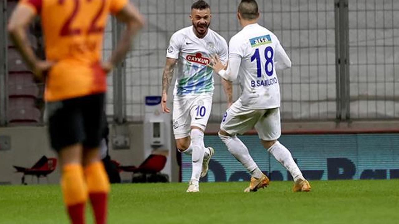 7 gollü maçta Galatasaray'a ağır darbe!