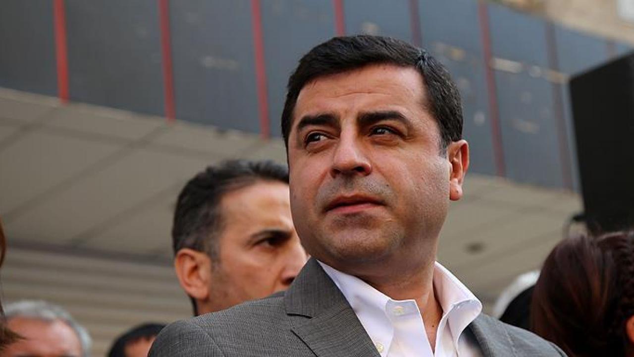 Demirtaş'tan HDP ve Gergerlioğlu yorumu: Anayasal suçtur