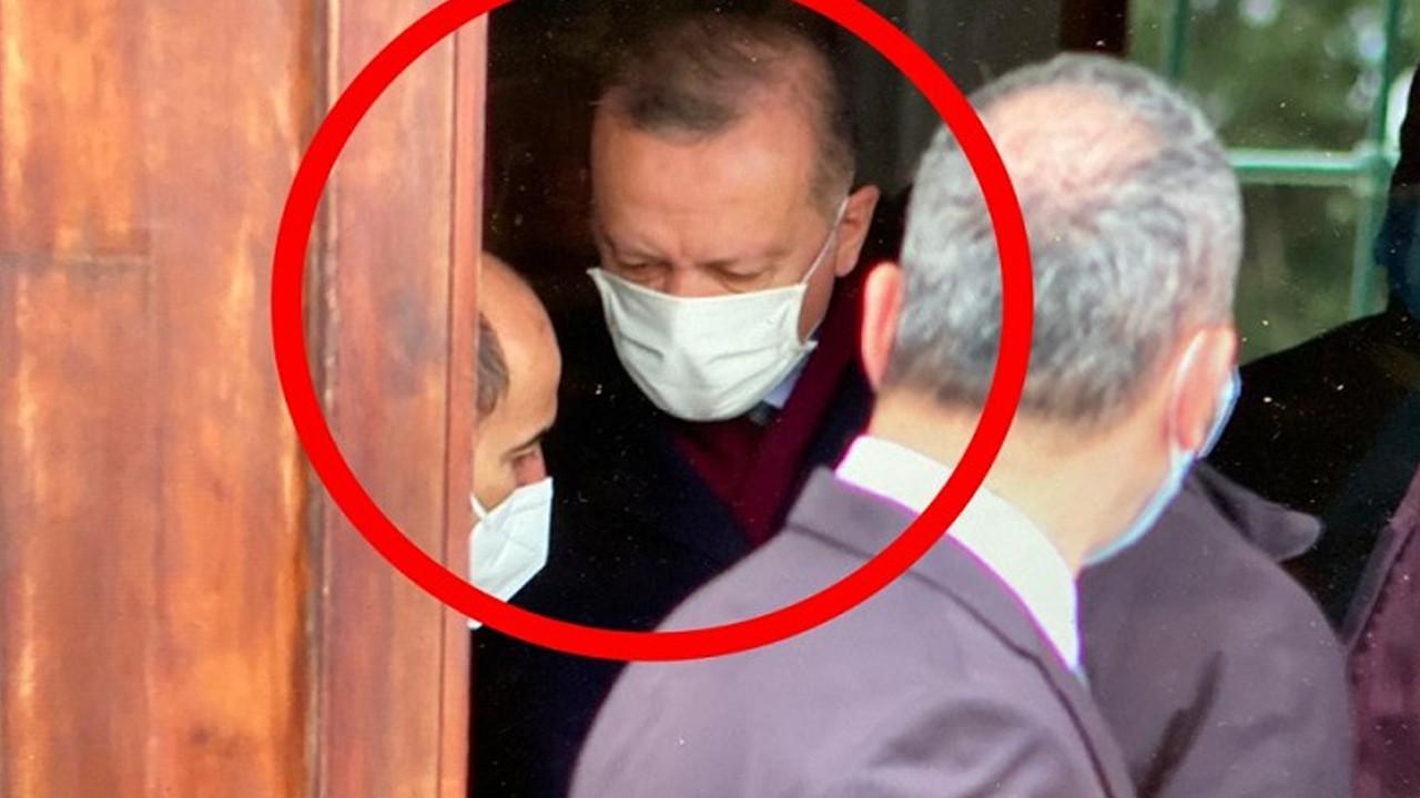 Erdoğan cuma namazını Melih Bulu ile kaldı