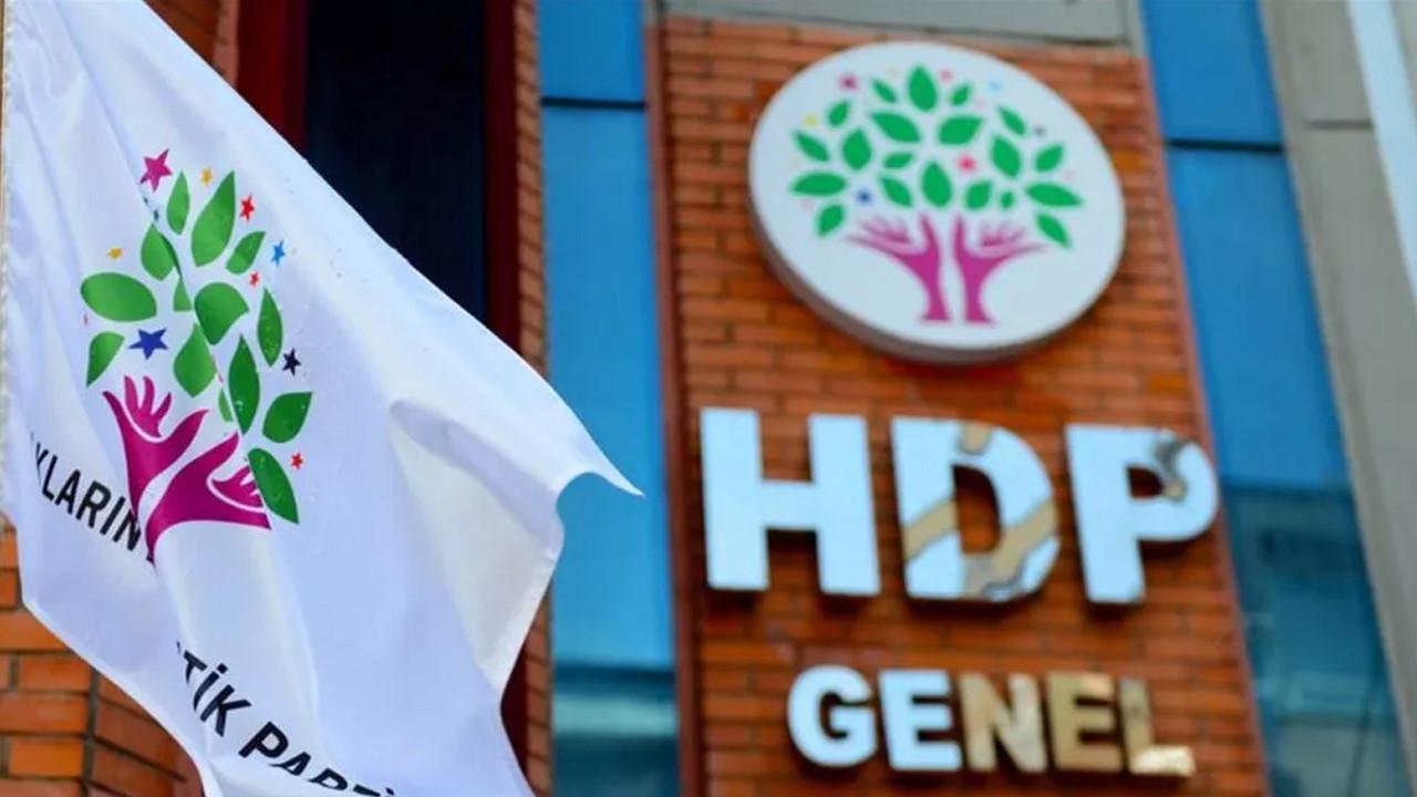 HDP'nin kapatılma incelemesi için tarih belli oldu