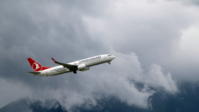 THY uçağından korkutan iniş