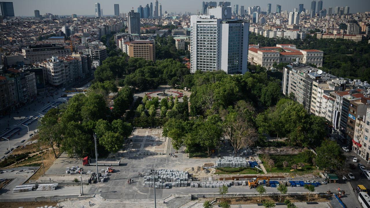 Gezi Parkı'nın devriyle ilgili açıklama