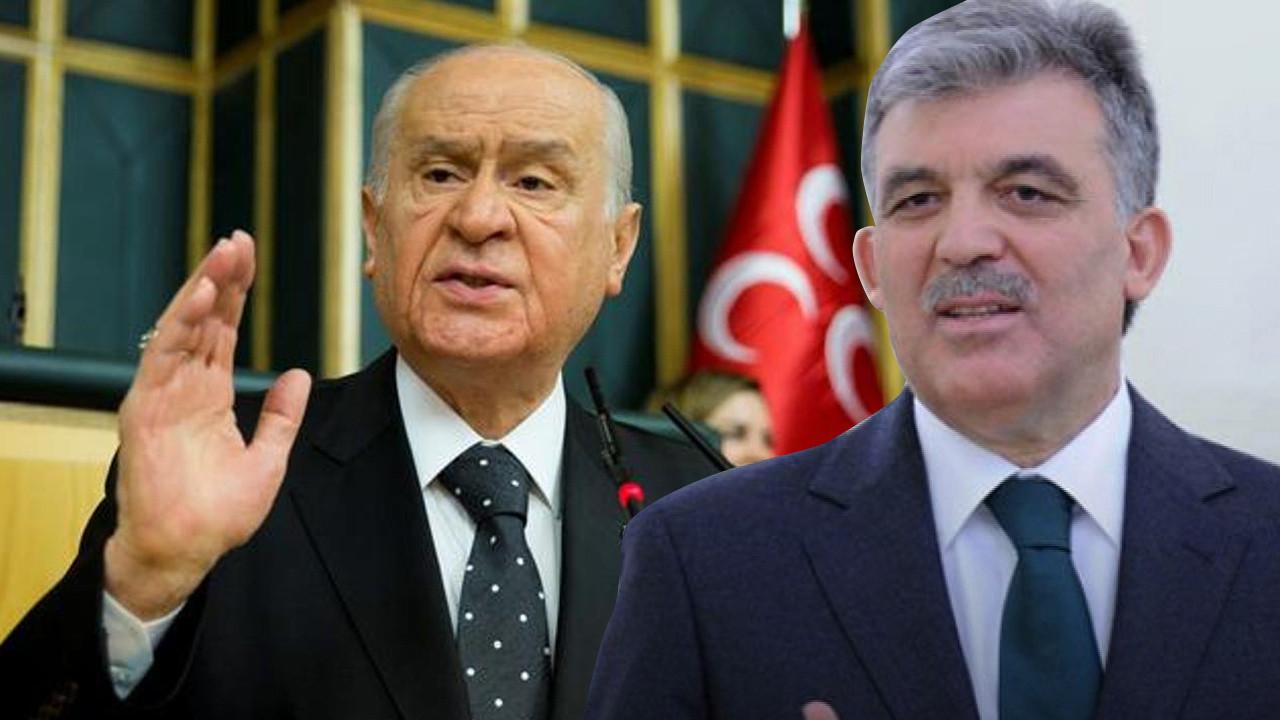 Bahçeli'den Abdullah Gül'ün HDP ve Ömer Gergerlioğlu tepkisi