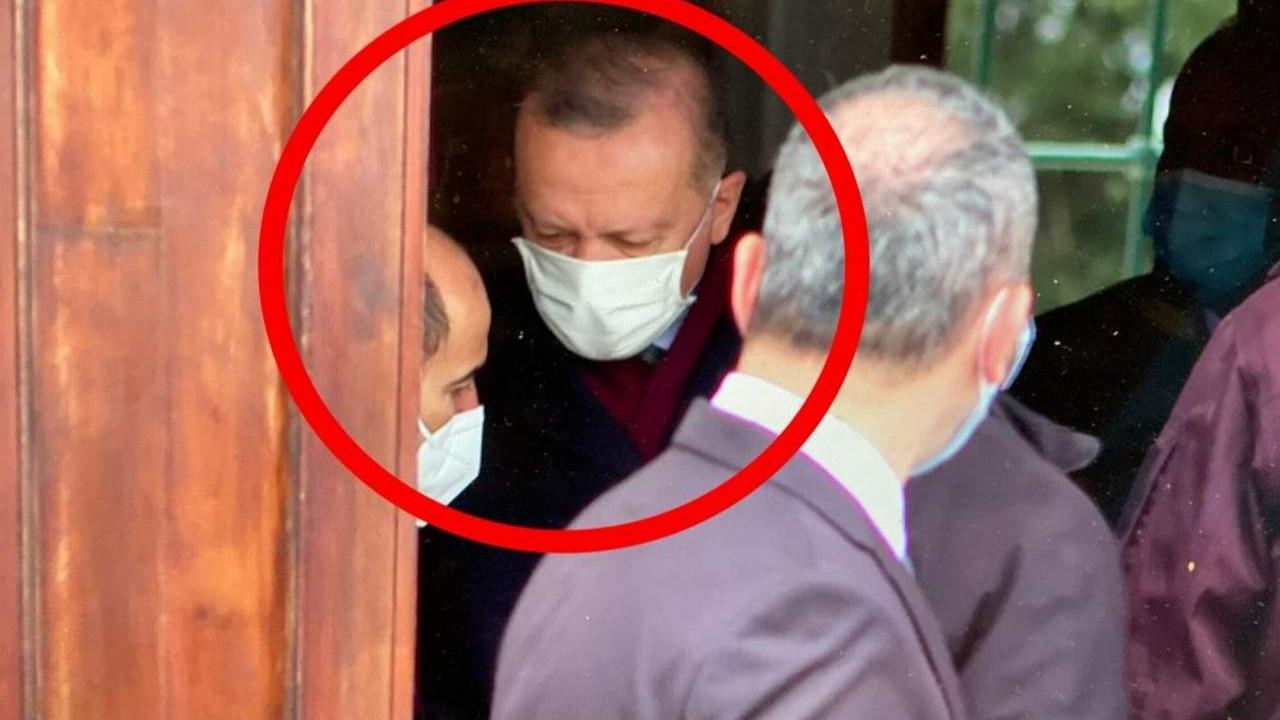 Erdoğan'dan cuma sonrası ''kapı arkası'' görüşmesi
