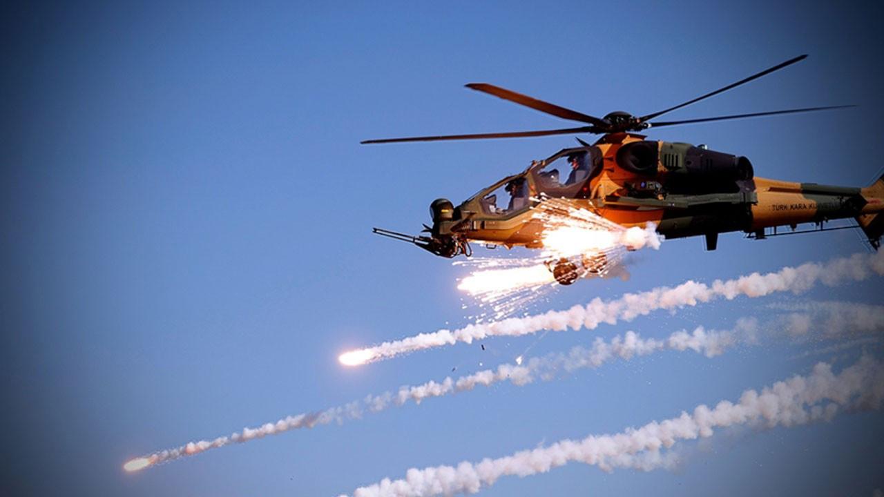 Terör örgütüne ağır darbe: 20'den fazla hedef imha edildi!
