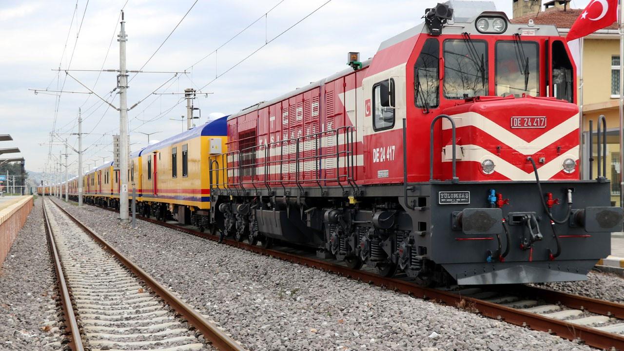 Bir yıldır yapılamayan tren seferleri yeniden başlatıldı