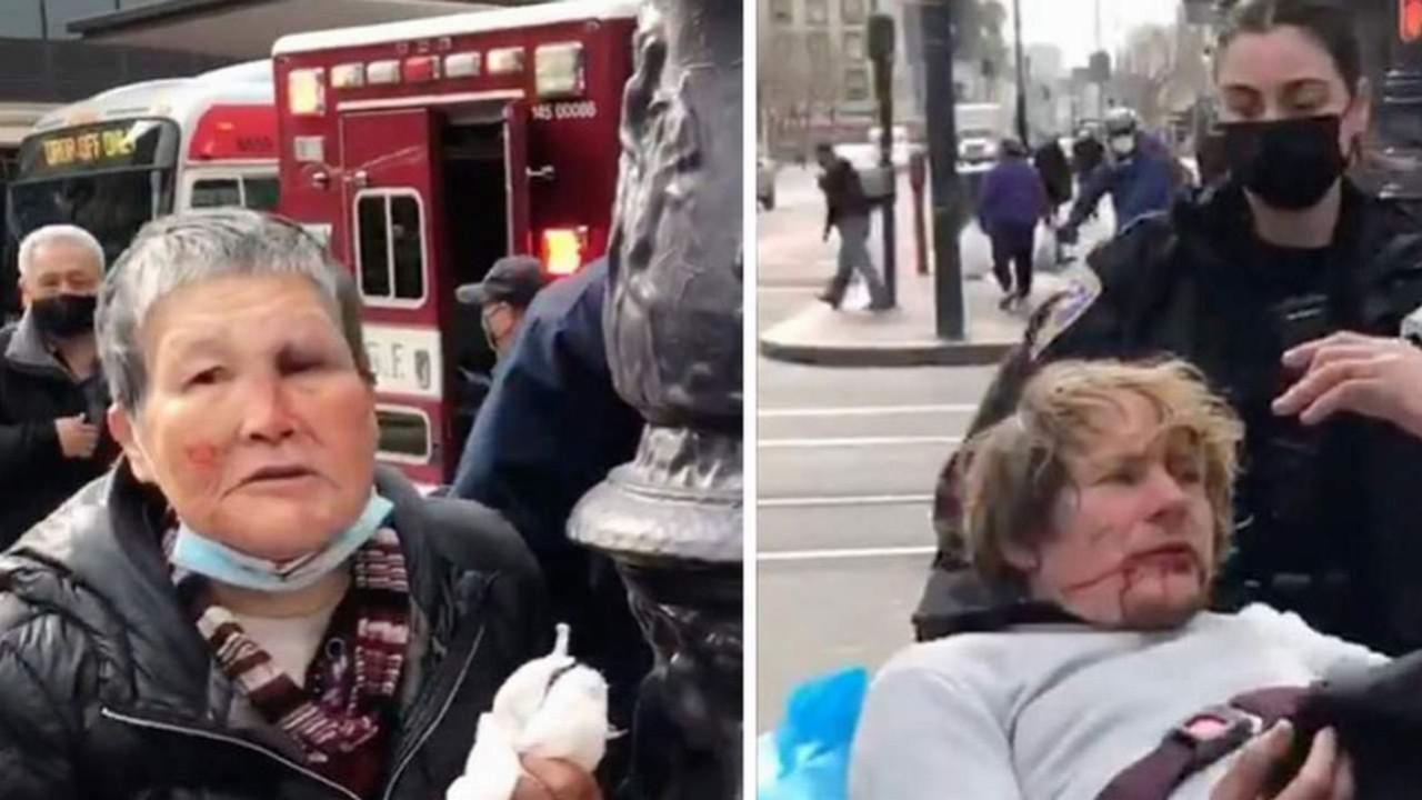 76 yaşındaki kadın saldırganı pişman etti!