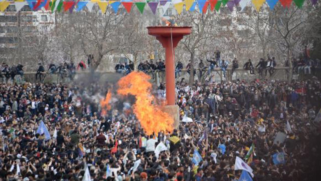 Nevruz kutlamalarından korkutan görüntüler
