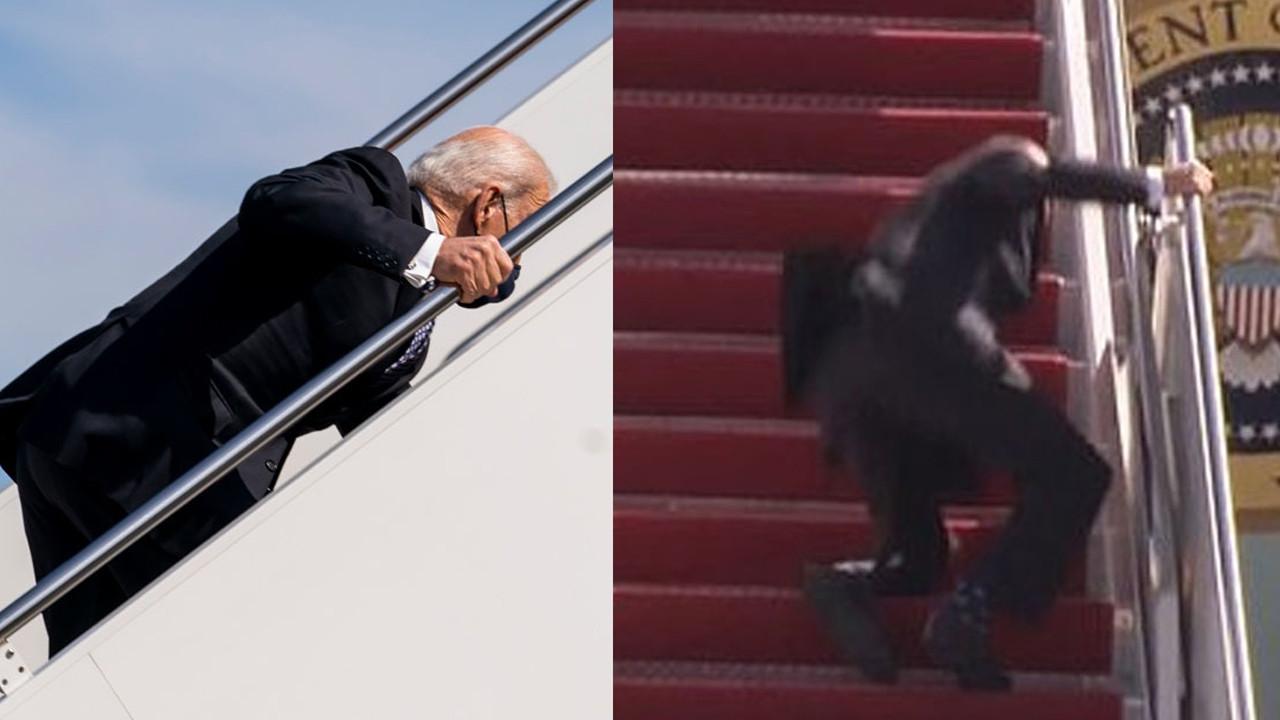 Biden alay konusu olmuştu! Beyaz Saray'dan açıklama