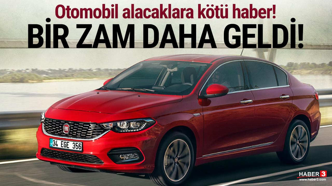 2021 model Fiat Egea fiyatlarına zam geldi