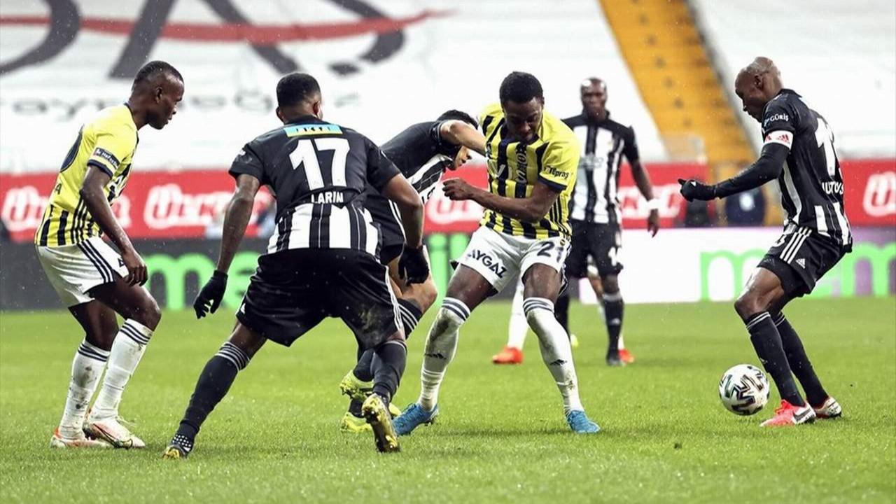 Beşiktaş - Fenerbahçe derbisinde puanlar paylaşıldı