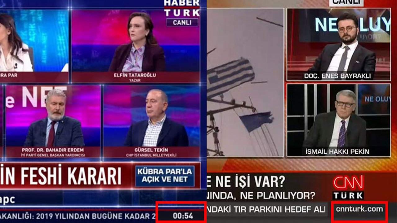 Türkiye'nin ''2 çok büyük'' haber kanalı dolar bilgisini kaldırdı