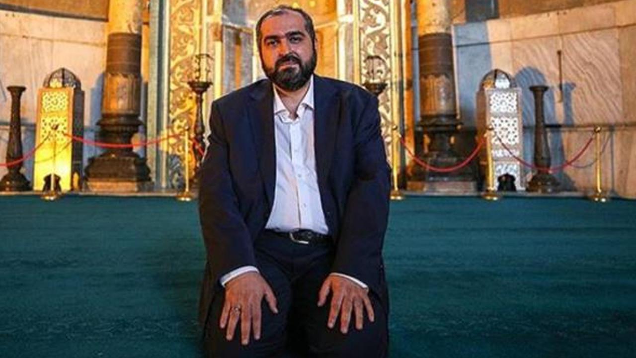 AK Parti'den Ayasofya İmamı'na tepki