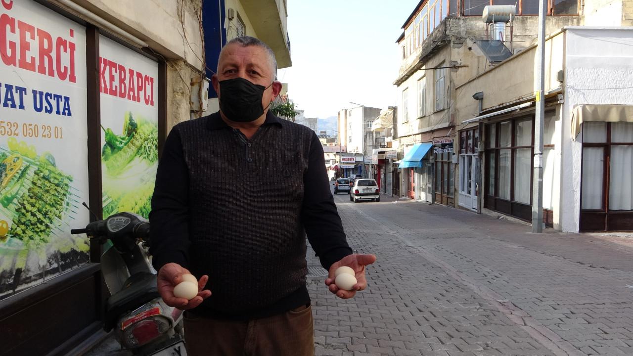Adana'da ilginç olay! 15 gündür gökten yumurta yağıyor