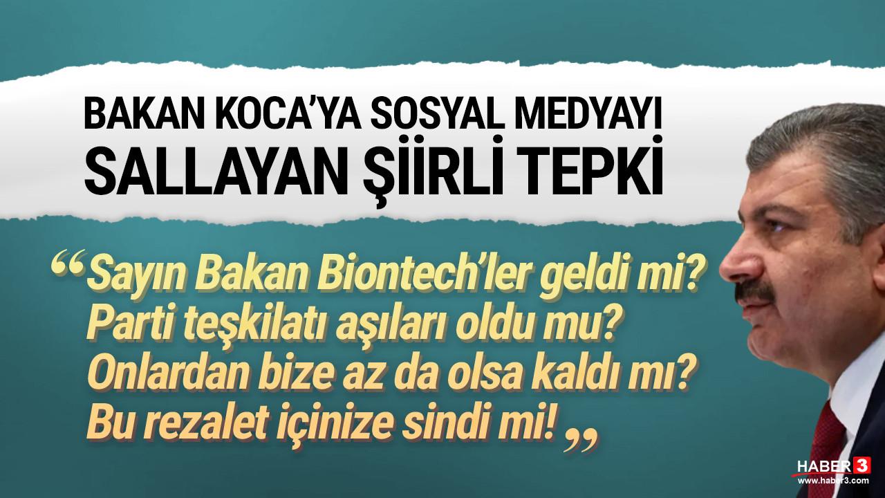 Fatih Altaylı, Bakan Koca'ya şiirle sordu: Aşılar nerede?