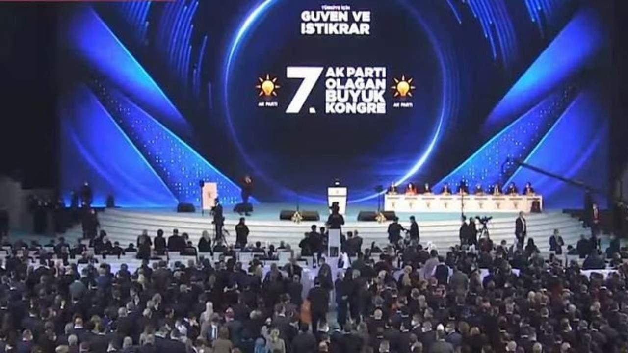 AK Parti kongresinde ''koronavirüs hatırası''!