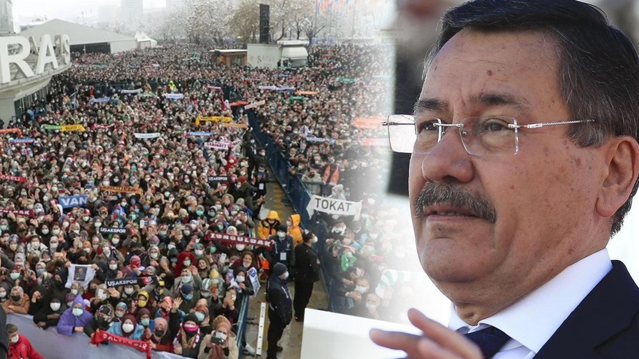 Melih Gökçek, AK Parti kongresindeki kalabalığı böyle savundu!