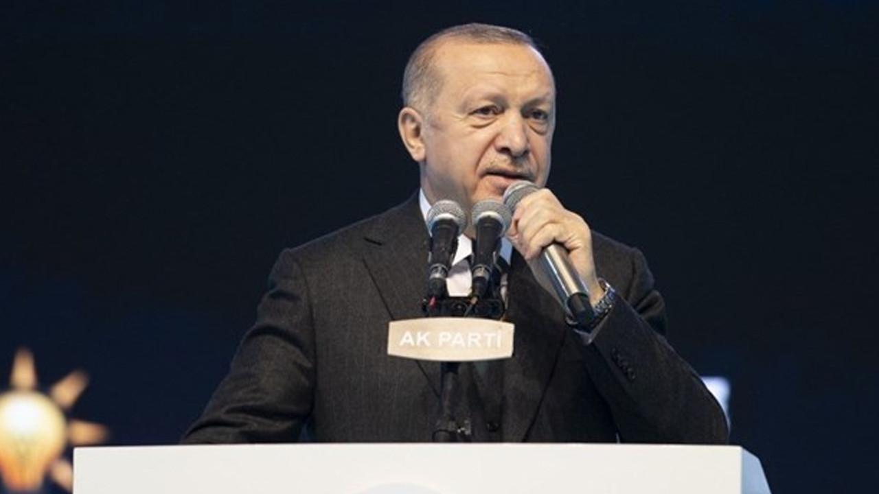 Erdoğan ''lebaleb'' kongreden seslendi: Vatandaşa döviz ve altın çağrısı