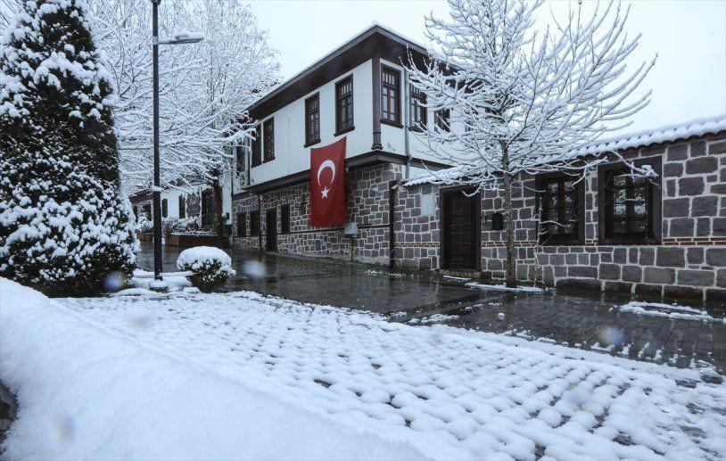 Başkent Ankara da güne bembeyaz uyandı! - Resim: 3
