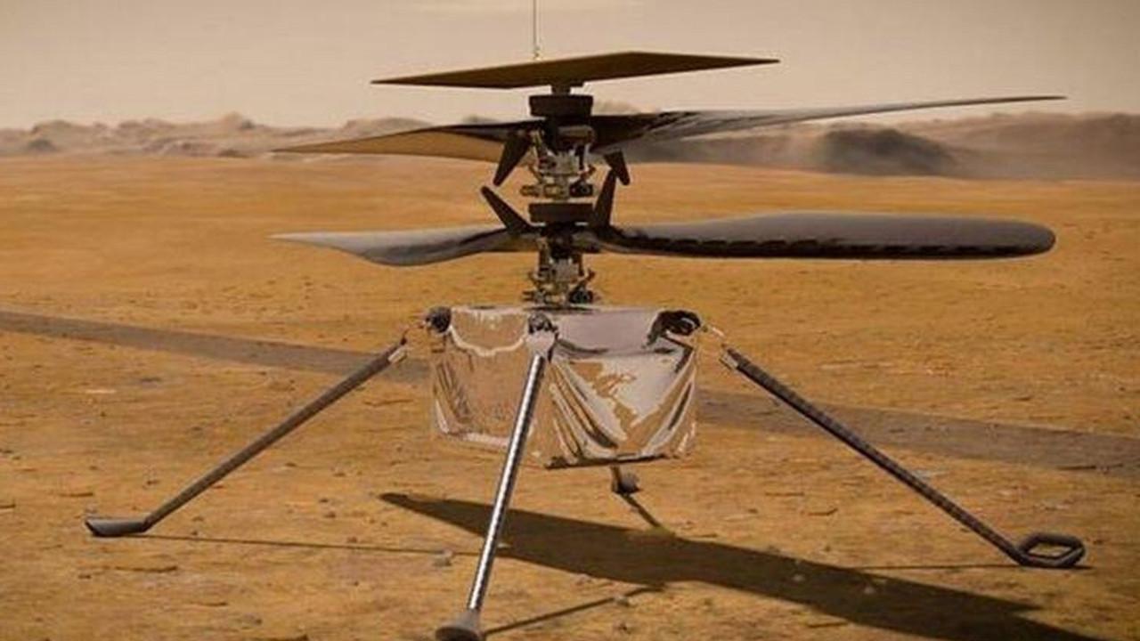 Mars'ta ilk kez hava aracı uçurulacak