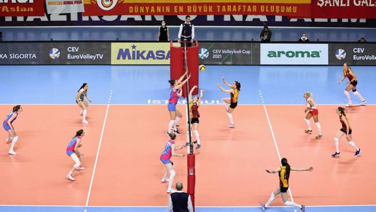 Galatasaray, CEV Kupası'nda ikinci oldu